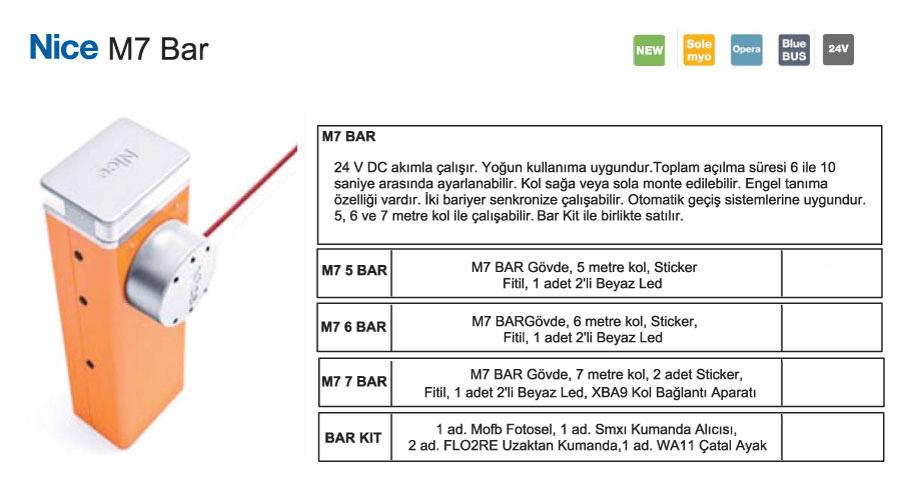 Nice-M7-Bar-ozellik